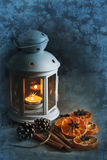 Оформление специй и цитруса, картин заморозка Стоковое Фото