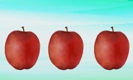 Оформление Яблока Стоковые Фотографии RF