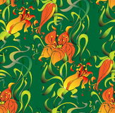 Оформление ornamental ткани Стоковая Фотография RF