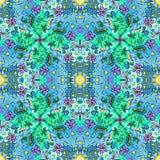 Оформление ornamental ткани Стоковые Изображения