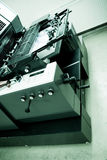 офсетная печать машины Стоковая Фотография RF