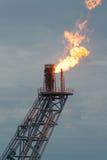 Оффшорная платформа конструкции для нефти и газ продукции стоковые фото
