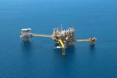 Оффшорная платформа конструкции для нефти и газ продукции, Aeria стоковое фото