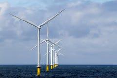Оффшорное Windfarm стоковое изображение rf