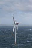 оффшорный ветер турбины стоковое фото