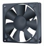 Охладитель компьютера Вентилятор компьютерной аппаратуры r r o Элемент компьютера Более крутой воздух Лопатка вентилятора бесплатная иллюстрация