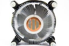 Охладитель C.P.U., жара Sinc Стоковое Изображение