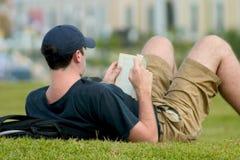 охлаждать вне парк Стоковое Изображение