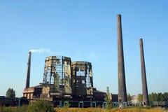 охлаждая разрушенные башни Стоковые Изображения RF
