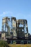 охлаждая разрушенные башни Стоковая Фотография