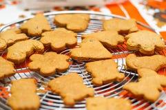 охлаждая gingerbread Стоковое фото RF