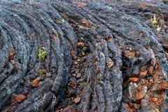 охлаженная предпосылкой лава подачи Стоковая Фотография