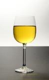охлаженное белое вино Стоковое Изображение