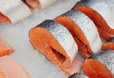 охлаженные рыбы Стоковое Фото