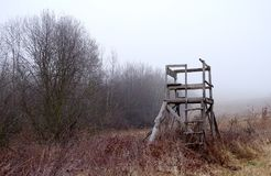 Охотиться высокая сторожевая башня Стоковые Фото