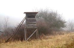 Охотиться высокая сторожевая башня Стоковое фото RF