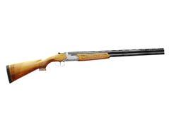 охотиться изолированное корокоствольное оружие Стоковая Фотография