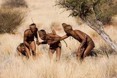 Охотники бушменов Стоковое Изображение RF