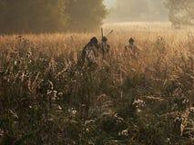 охотники Стоковое фото RF