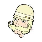 охотник важной игры шуточного шаржа викторианский Стоковое Фото