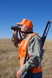 охотник важной игры glassing Стоковая Фотография