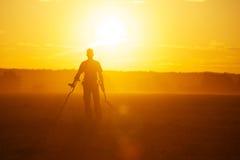 Охотник за сокровищами стоковая фотография rf