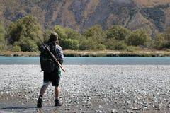Охотник кивиа стоковая фотография