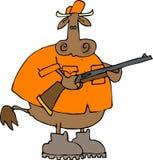 охотник коровы