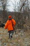 Охотник оленей Минесоты Стоковое фото RF