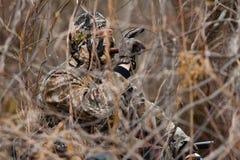 Охотник утки Стоковая Фотография RF