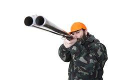 Охотник утки Стоковая Фотография
