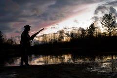 охотник Стоковые Изображения RF