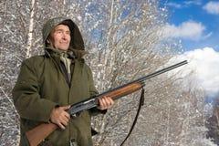 охотник Стоковая Фотография
