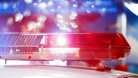 Охраните патрульную машину специализированного единства в nighttime Re стоковые фотографии rf