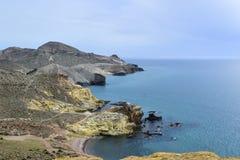 Охраняемая территория ‹Cabo de Gata в Альмерия, Испании †‹â€, стоковое изображение