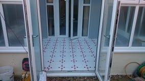 Охраняющий tiling Стоковые Изображения