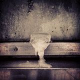 охлаженное вино Стоковая Фотография