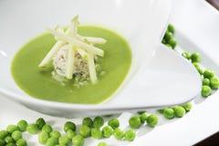 Охлаженный суп гороха Стоковое Фото