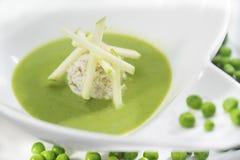 Охлаженный суп гороха Стоковая Фотография