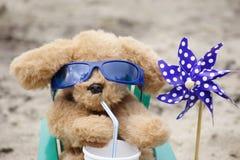 Охлаждать на пляже Стоковое Изображение