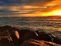 Охлаждать пляжа Стоковые Фото
