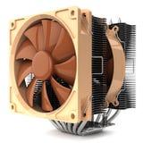 Охладитель с вентилятором C.P.U. для ПК Стоковое Изображение