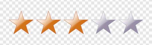 Оценка 5 звезд бесплатная иллюстрация