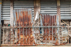 Оцинкованная сталь Стоковое Изображение