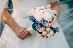 Очаровательная невеста в дне свадьбы Стоковые Фото