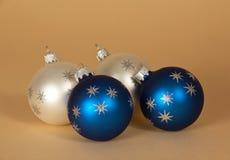 Очаровательные сферы рождества Стоковая Фотография RF