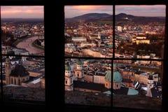 Очаровательный взгляд окна Стоковое Изображение