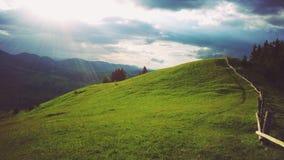 Очаровательный холм Стоковые Фотографии RF