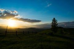 Очаровательный холм стоковая фотография rf