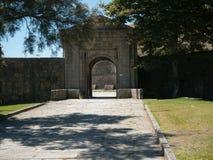 Очаруйте свод, наполеоновский форт в Foz сделайте Дуэро, Порту, Португалию стоковые изображения rf